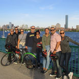 Tour de Boston bicycle tour is our best family tour
