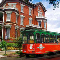 Savannah Old Town Trolley & the Tellfair Mansion