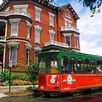 Savannah Old Town Trolley & the Tellfair Mansion