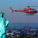 The Big Apple Helicopter Tour of New York: Birds Eye View of the Statue of Liberty