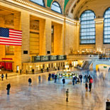 Includes a stop at the Grand Central Terminal