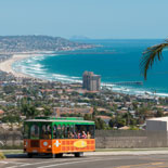 Experience the magic of San Diego on Old Town Trolley's La Jolla and San Diego Beach Tour