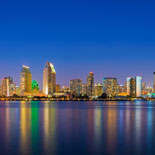 San Diego sparkles at night. What better way to see it than with Old Town Trolley Tours?