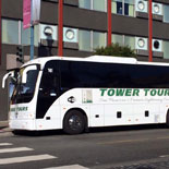Tour in a new, luxurious motor-coach