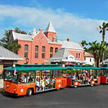 Old Town Trolley at the Old Jail