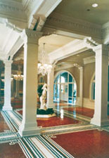 Lobby of Lightner Museum